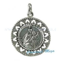 Medalla de la Virgen del Carmen